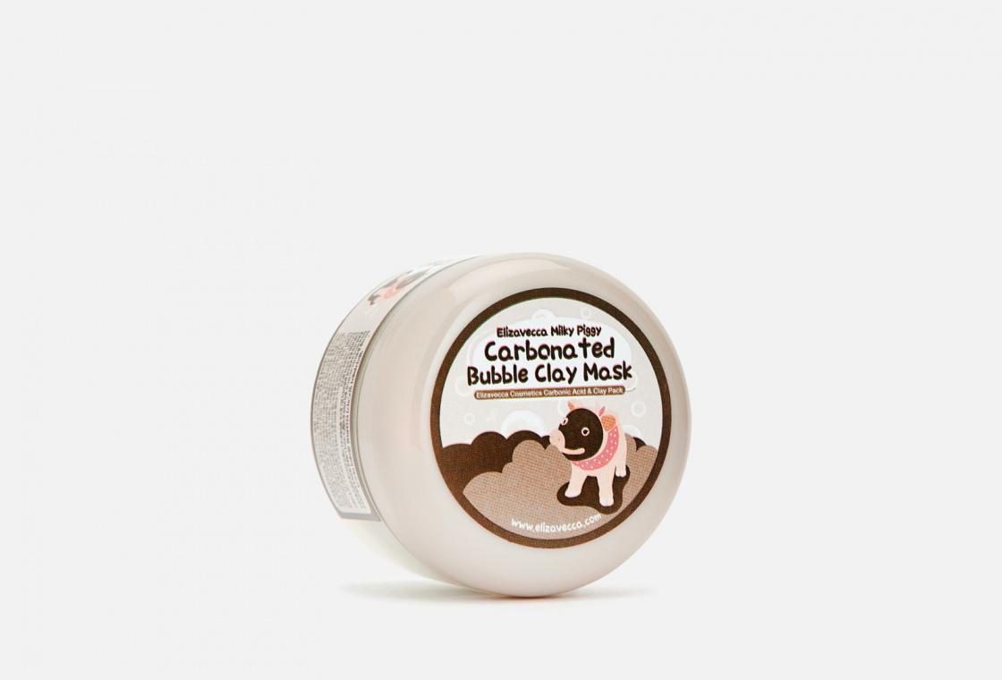 Маска для лица глиняно-пузырьковая  Elizavecca Milky Piggy
