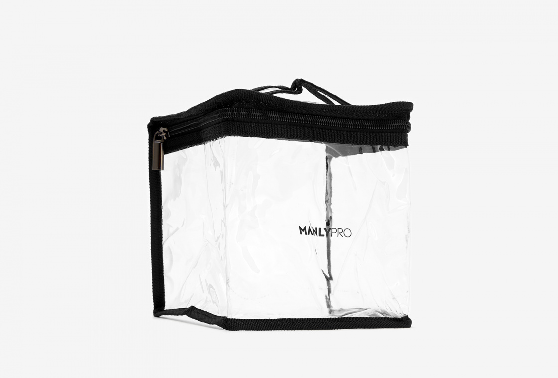Косметичка визажиста прозрачная  Manly PRO makeup bag