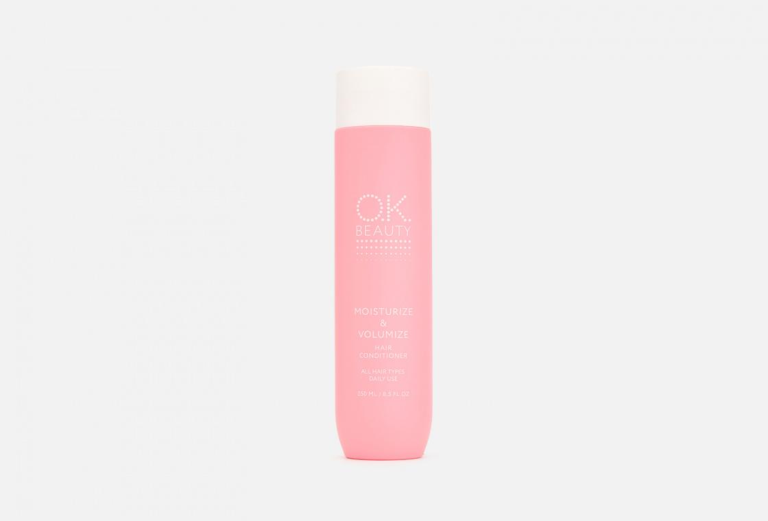 Кондиционер для увлажнения и  придания объема OK Beauty MOISTURIZE & VOLUMIZE