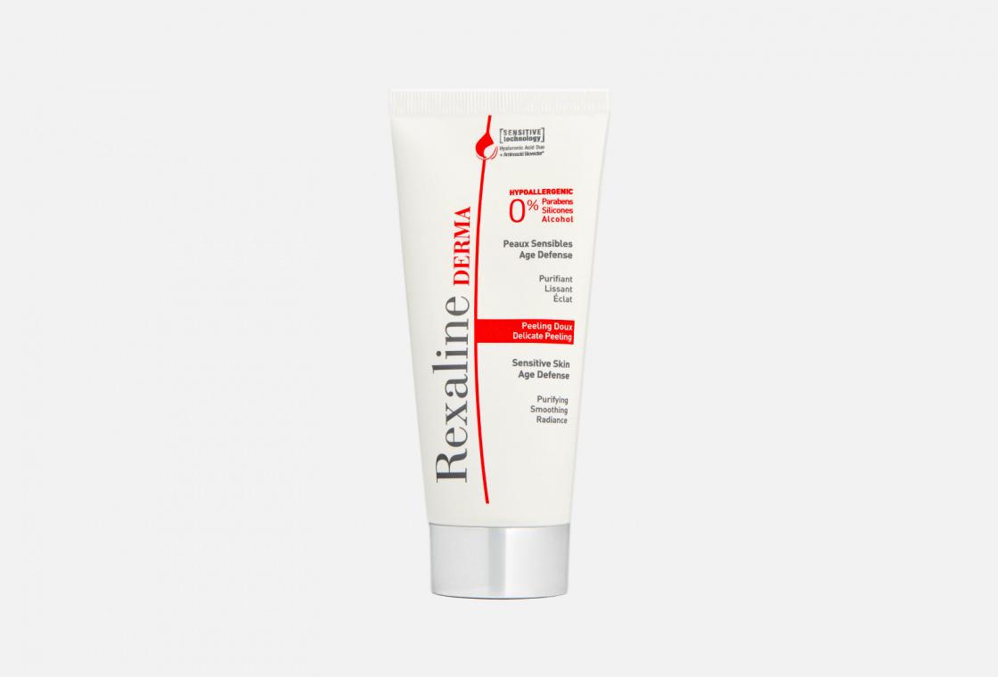 Деликатный пилинг для чувствительной кожи лица  Rexaline Derma