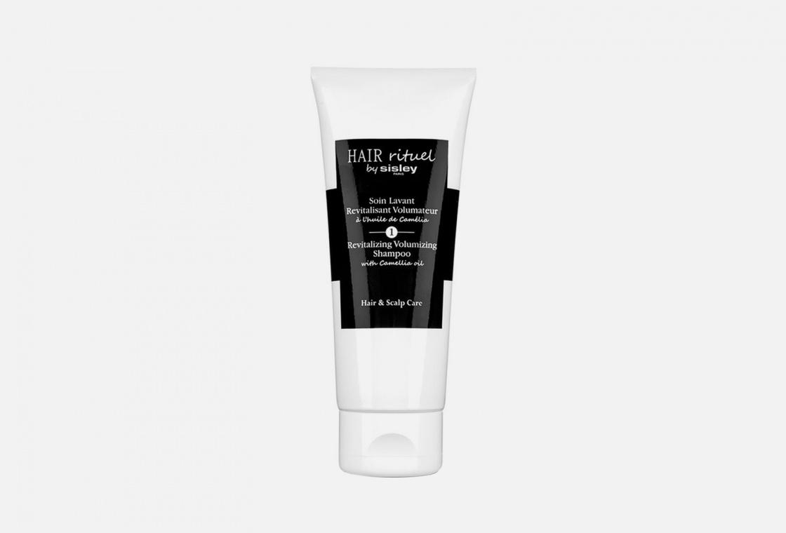 Тонизирующий шампунь для увеличения объема волос с маслом камелии Sisley Revitalizing Volumizing Shampoo with Camellia oil